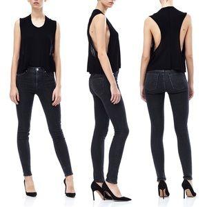 [Hudson] Barbara High Rise Super Skinny Jeans 25